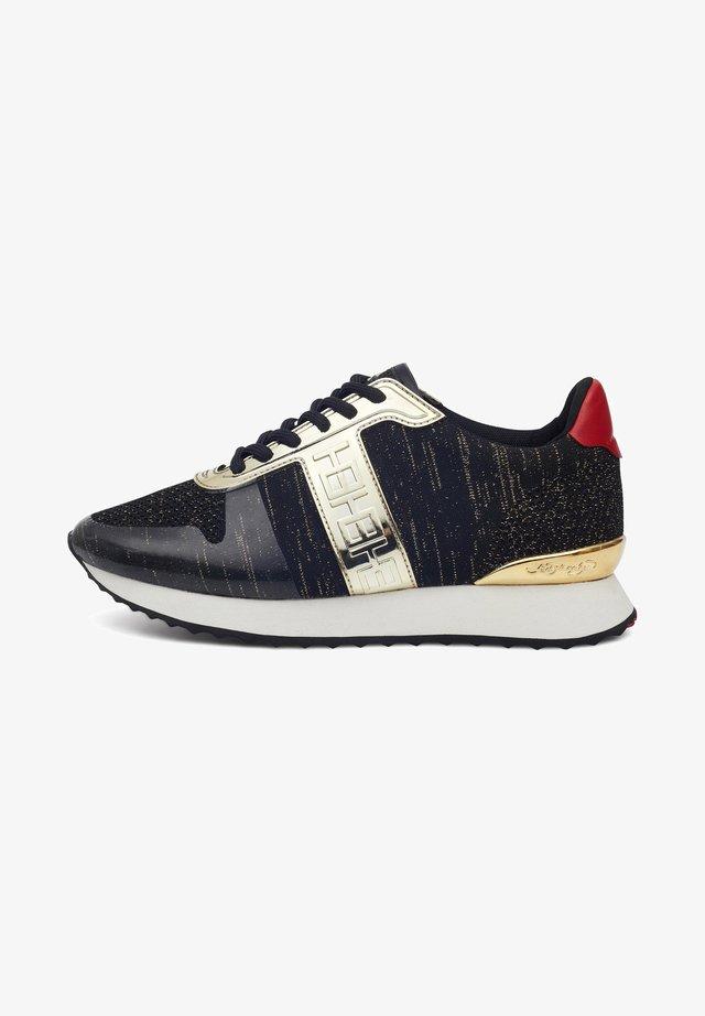 MONO RUNNER-METALLIC - Sneakers laag - black