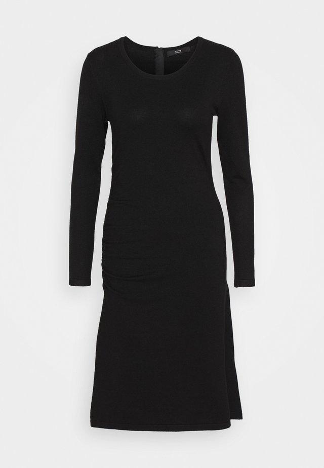 STRETCH DRESS SPECIAL - Abito in maglia - black
