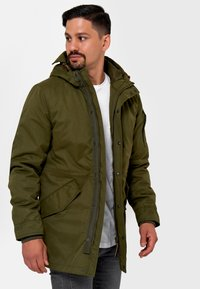 INDICODE JEANS - Parka - army - 4