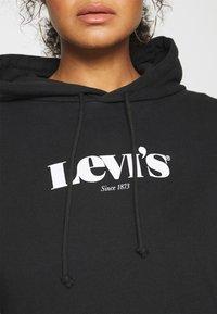 Levi's® Plus - GRAPHIC HOODIE - Sweatshirt - black - 6