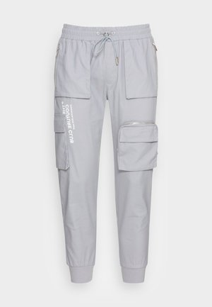 BELLOWED POCKET SIGNATURE  - Cargo trousers - mint