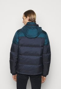 PS Paul Smith - HOODED JACKET - Übergangsjacke - dark blue