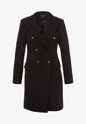 MIT KAPUZE - Short coat - schwarz