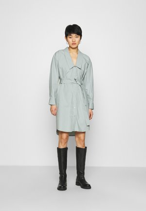 JILAN DRESS - Shirt dress - slate gray