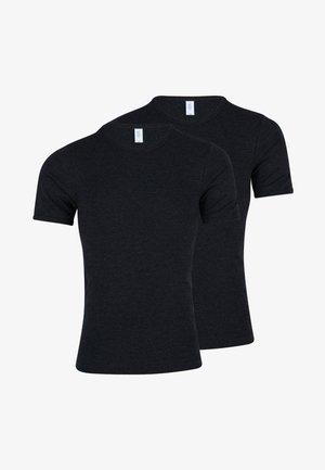 FEINRIPP - Undershirt - schwarz