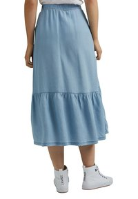 edc by Esprit - A-line skirt - blue light washed - 4