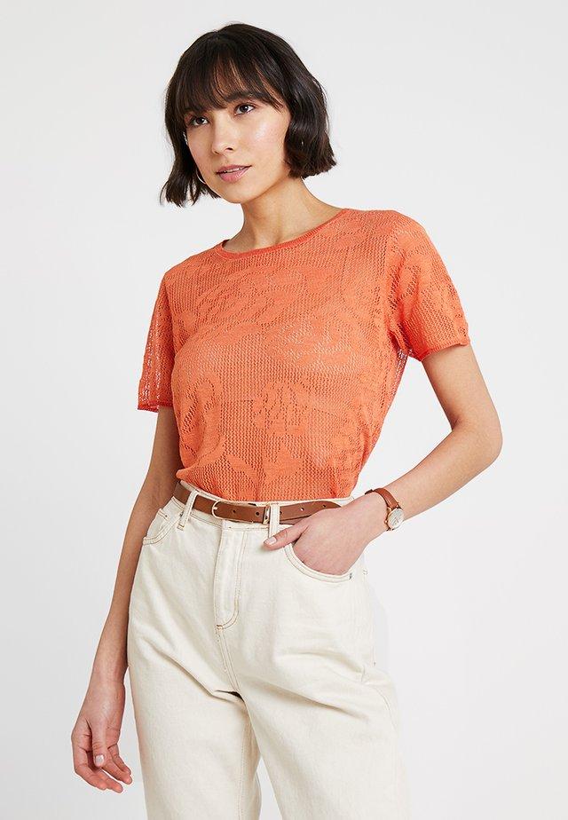 LIGHT - Printtipaita - orange