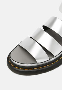 Dr. Martens - CLARISSA LI - Platform sandals - silver - 5