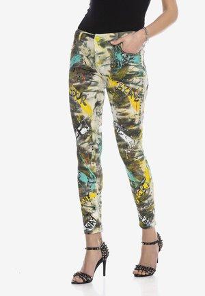 Slim fit jeans - multi color