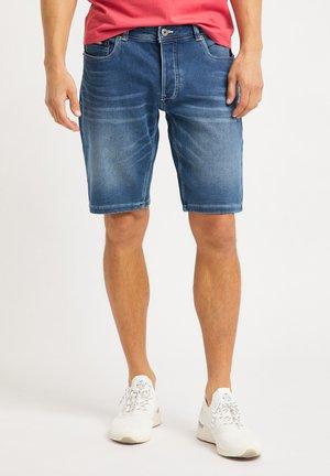 Jeansshort - denim blue