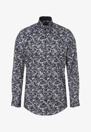 Shirt - indigo braun