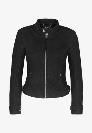 TIMELESS RACER - Leather jacket - black