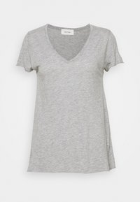 American Vintage - JACKSONVILLE - T-shirts - gris chine - 0