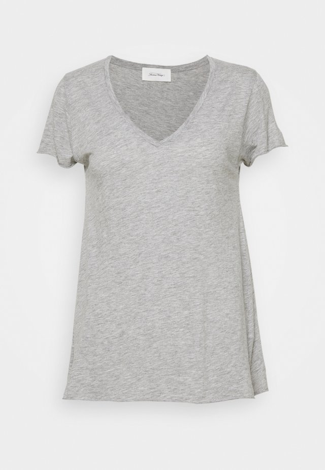 JACKSONVILLE - T-shirt basic - gris chine