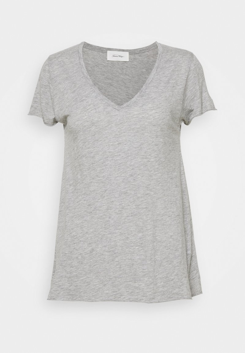 American Vintage - JACKSONVILLE - T-shirts - gris chine