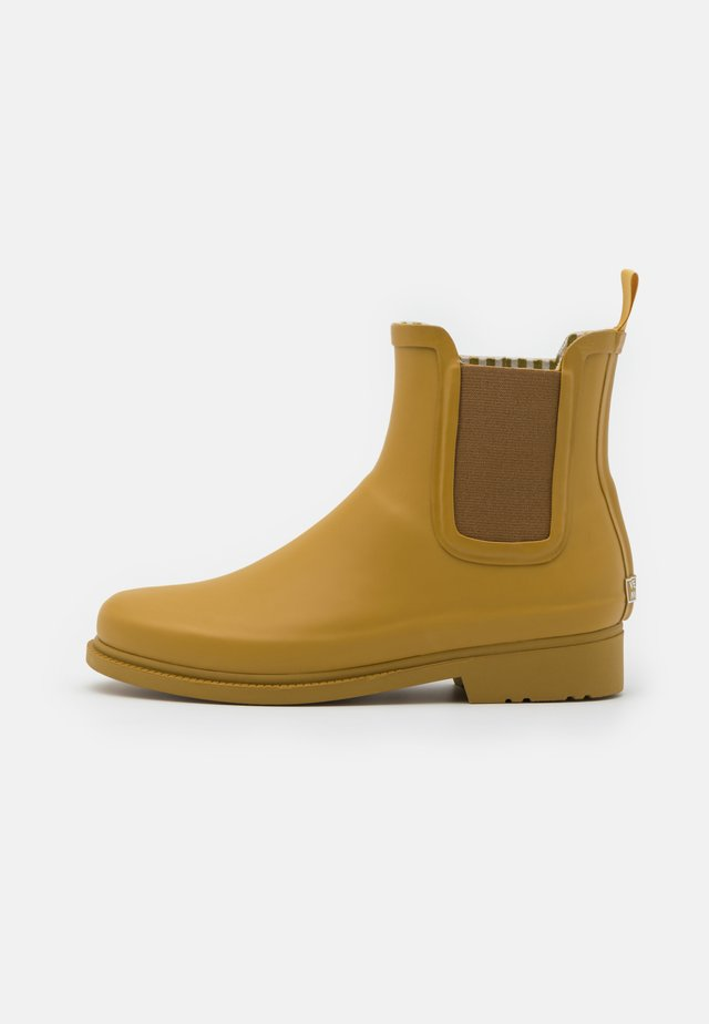VMSIS BOOT - Wellies - dried tobacco