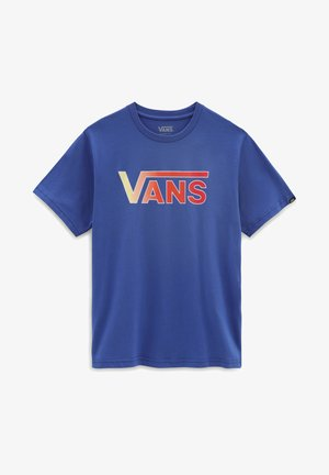 BY VANS CLASSIC LOGO FILL BOYS - Camiseta estampada - blue