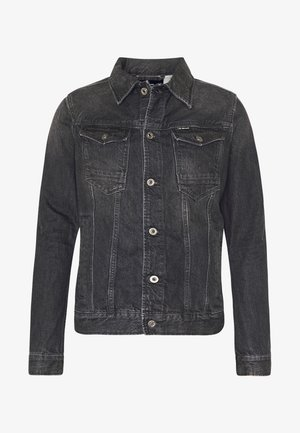 ARC 3D SLIM JKT - Jeansjacka - sato black denim/faded basalt