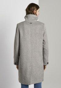 TOM TAILOR - MODERN COAT - Kåpe / frakk - mid grey - 1