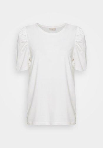 FENJA - Jednoduché triko - offwhite