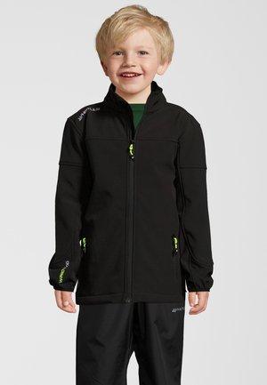 Soft shell jacket - schwarz