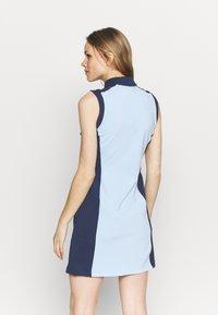 Kjus - WOMEN SUSI DRESS - Sports dress - cloud blue/atalanta blue - 2