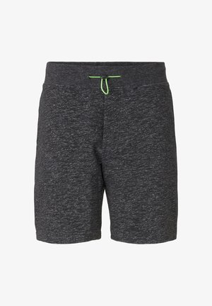 IN MELANGE-OPTIK - Shorts - black non-solid