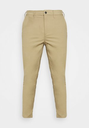 SNAP FRONT COMMUTER  - Trousers - khaki