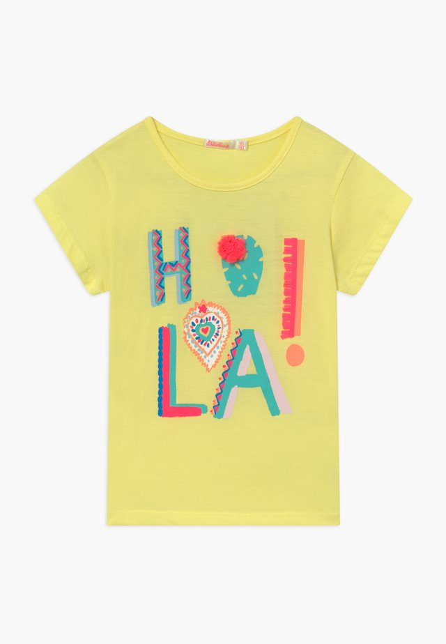 T-shirt con stampa - lime