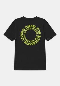 Diesel - MAGLIETTA UNISEX - Triko spotiskem - nero - 1