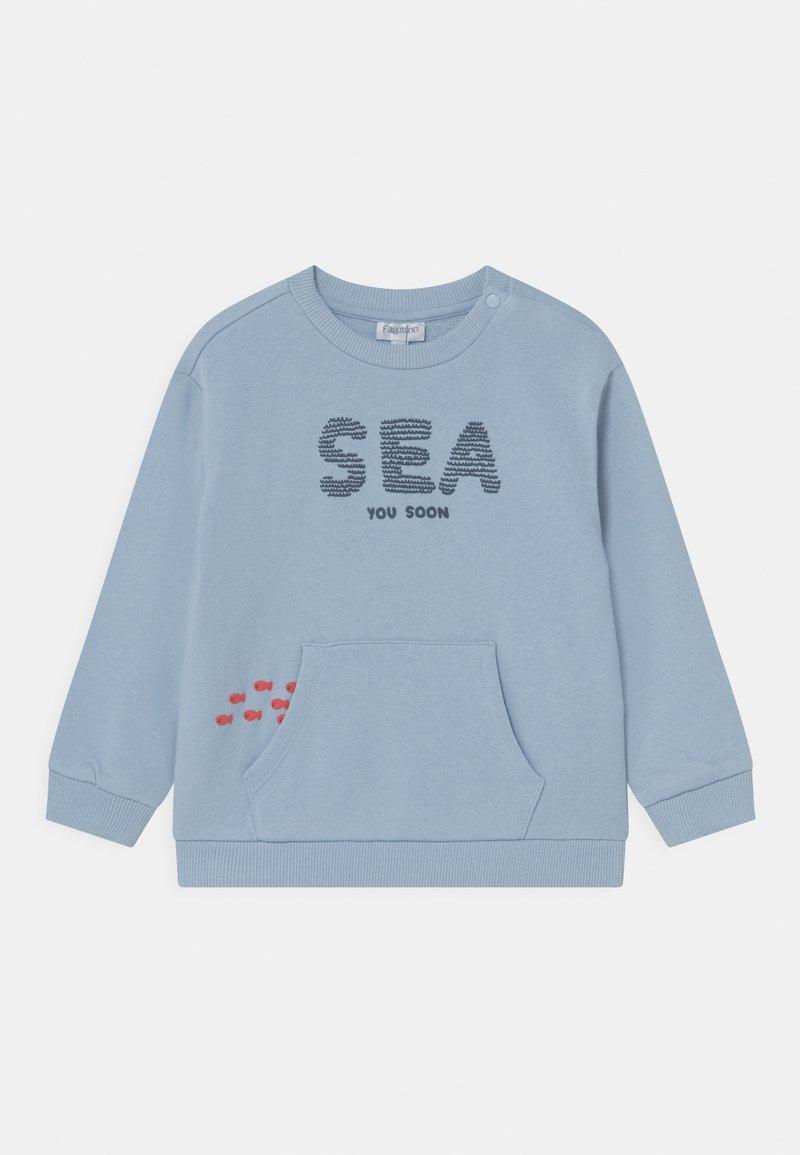 OVS - ROUND NECK - Sweatshirt - baby blue