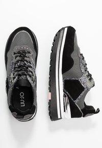 Liu Jo Jeans - MAXI  - Sneakersy niskie - black - 3
