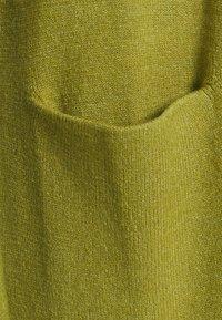 Vila - VIRIL LONG - Kardigan - green olive melange - 2