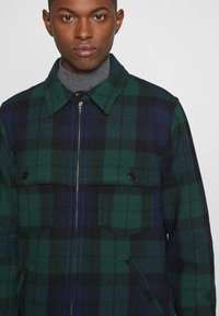J.CREW - ZIP FRONT BLACKWATCH - Tunn jacka - green black - 6