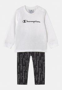Champion - AMERICAN CLASSICS SET UNISEX - Tracksuit - white - 0