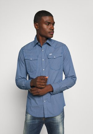 3301 SLIM SHIRT L\S - Chemise - deep true blue