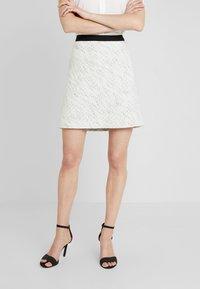 Esprit Collection - SKIRT - Áčková sukně - off white - 0