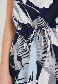 Fransa - MIT ALLOVER PRINT - Day dress - navy blazer mix - 3