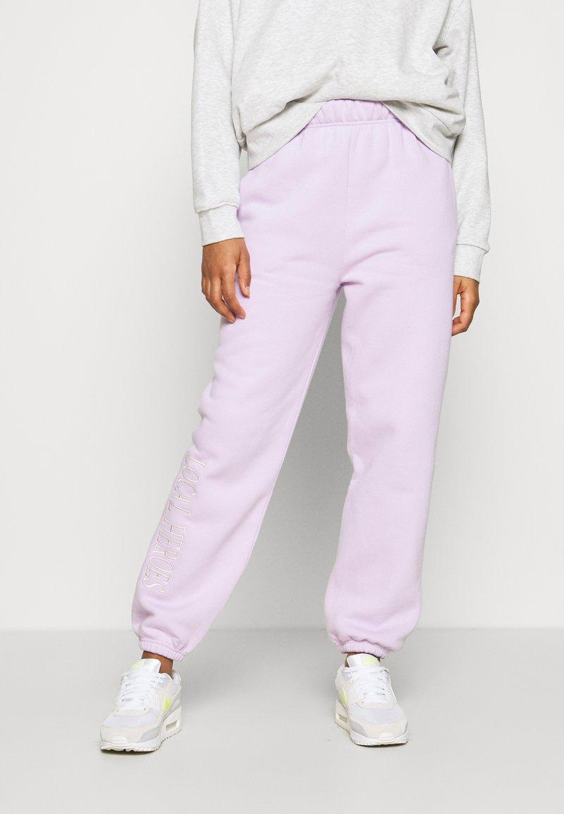 Local Heroes - Pantaloni sportivi - lavender