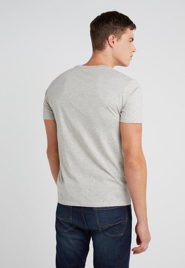 Polo Ralph Lauren T-shirt basic - grey/szary Odzież Męska ETWL