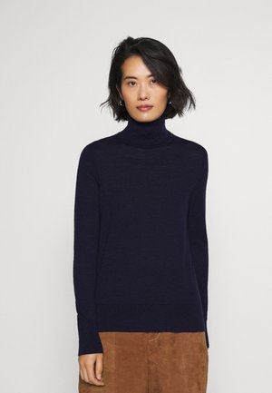 Strikpullover /Striktrøjer - navy heather