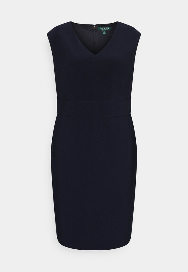 JANNETTE CAP SLEEVE DAY DRESS - Etui-jurk - lighthouse navy