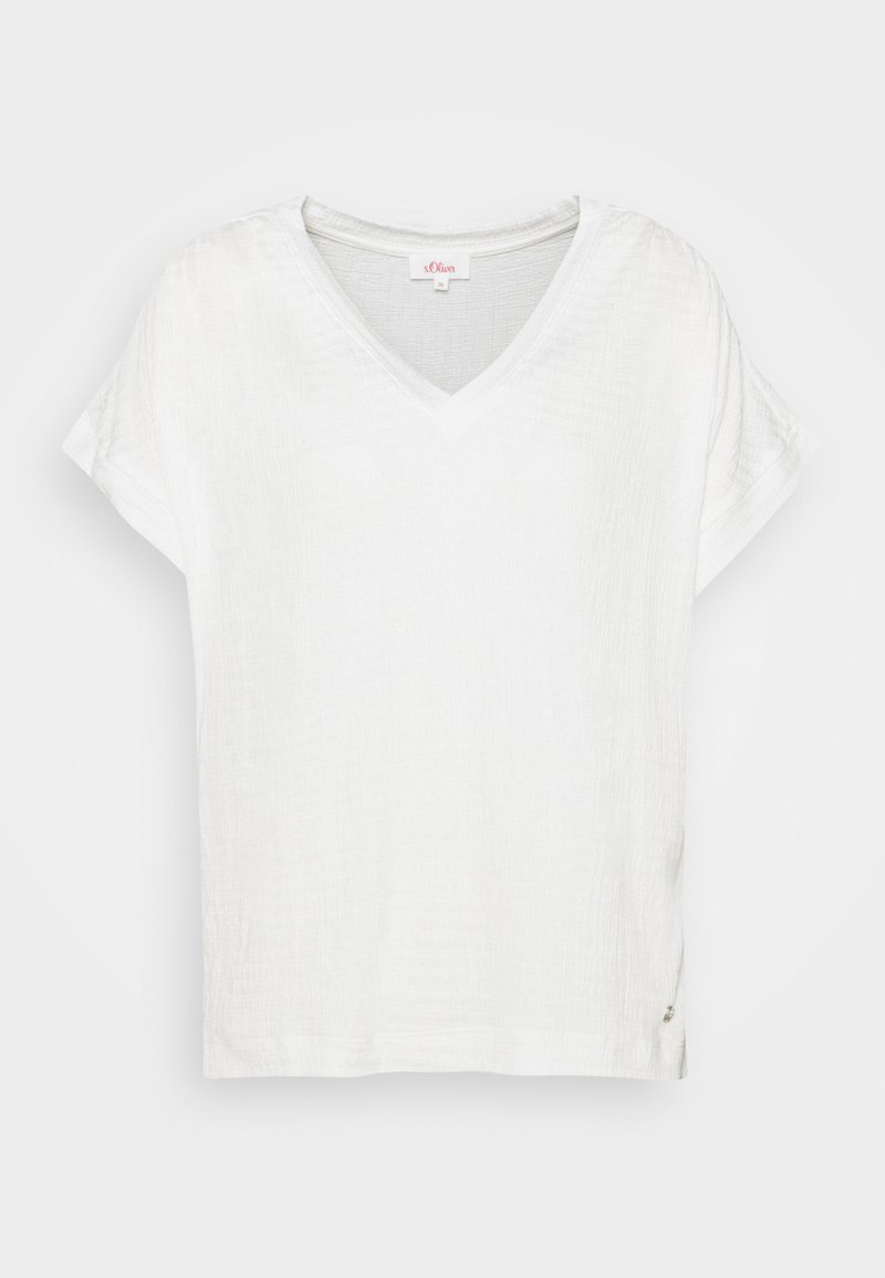 s.Oliver - Print T-shirt - off-white