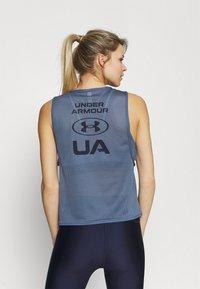 Under Armour - MUSCLE TANK - Camiseta de deporte - mineral blue - 2