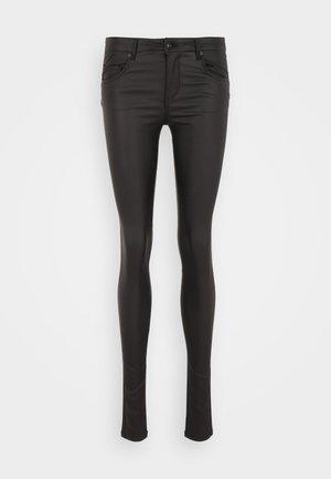 ONLLOULOU PUSHUP COAT PANTS  - Trousers - black