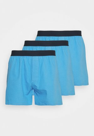 3 PACK - Boxer shorts - blue/light blue