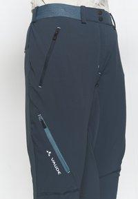 Vaude - SCOPI PANTS - Outdoor trousers - steelblue - 4