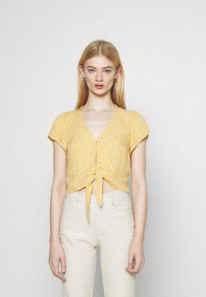Blouse - yellow floral