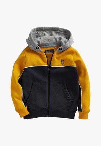 Sweater met rits - ochre