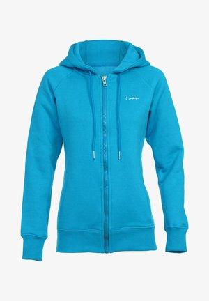 Zip-up sweatshirt - sky blue